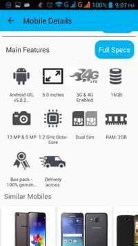 Mobile Prices Pakistan apk screenshot