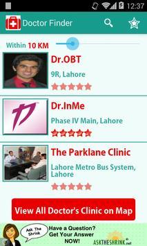 Doctor Finder apk screenshot