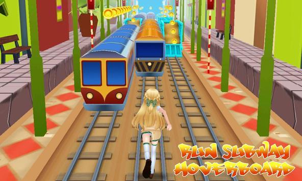 Run Subway Hoverboard apk screenshot