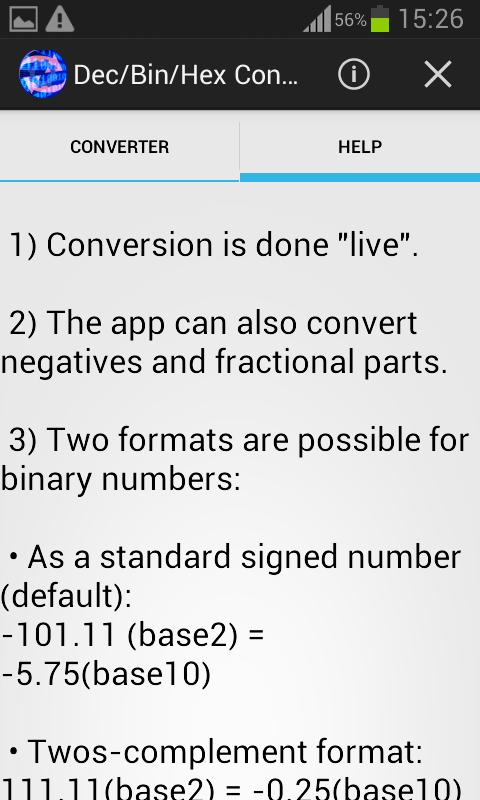 Binary Converter for Android - APK Download