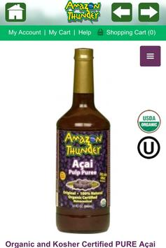 Acai Berry, Graviola, Supplements, Amazon Thunder apk screenshot
