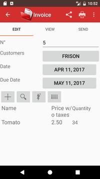 Invoice pro screenshot 2