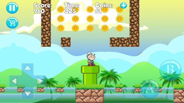 Install:Popeye Man Jungle apk screenshot