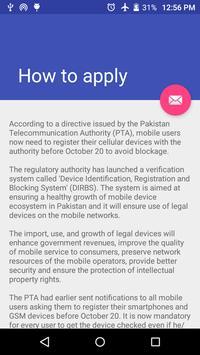 PTA Mobile Verification 1 0 (Android) - Download APK