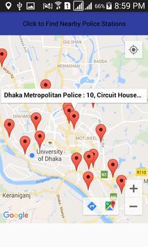 Police Stations Finder apk screenshot