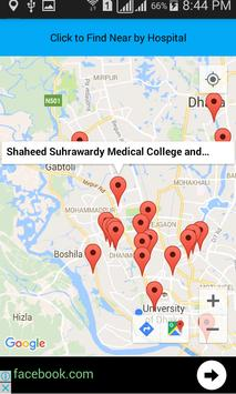 Hospital Finder screenshot 2