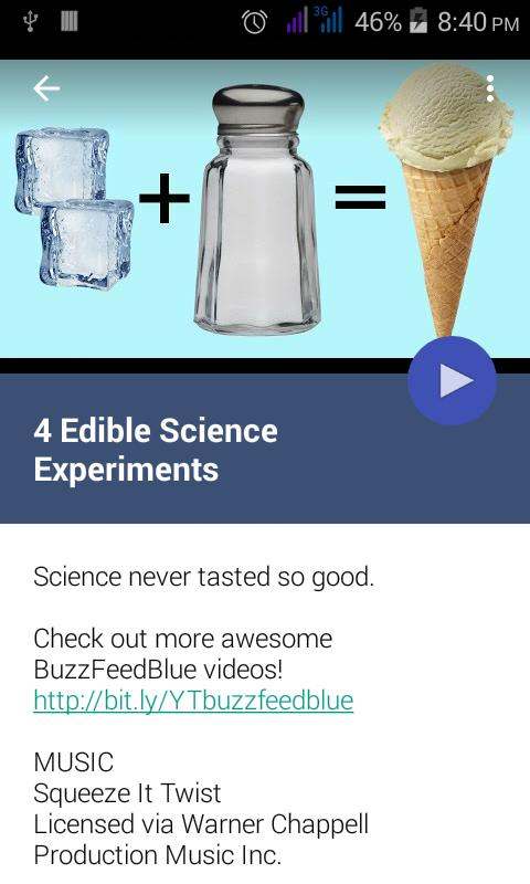 Science experiment videos for android apk download.
