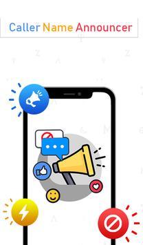 Caller Name Announcer, SMS Reader & Calls Blocker apk screenshot