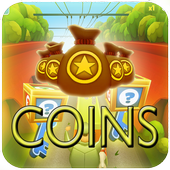 Unlimited coins Key for Subway icon