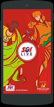 SOI LIVE Marketing poster