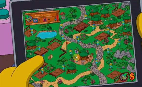 Guide for The Simpsons Tapped Out poster