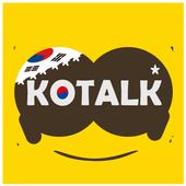 KOTALK-Meet Korean. Chat,Date icon