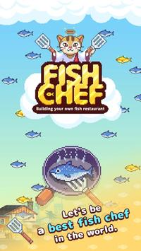 Retro Fish Chef - The Fish Restaurant poster