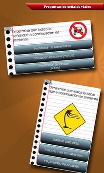 Examen de Licencia de Conducir स्क्रीनशॉट 5