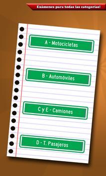 Examen de Licencia de Conducir स्क्रीनशॉट 3