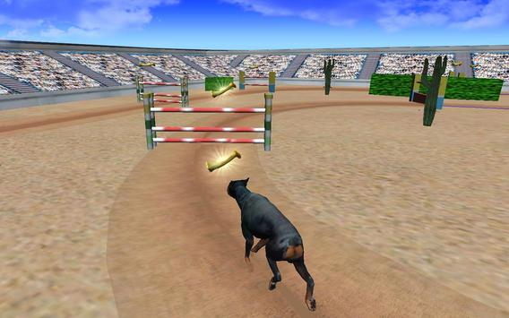 Super Dog Jump Crazy Racing 3D 2017 apk screenshot