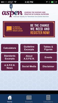 A.S.P.E.N. Clinical App poster