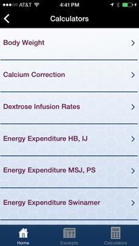 A.S.P.E.N. Clinical App apk screenshot