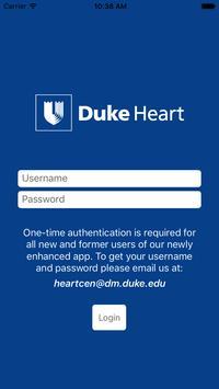 Duke Heart Referrals poster