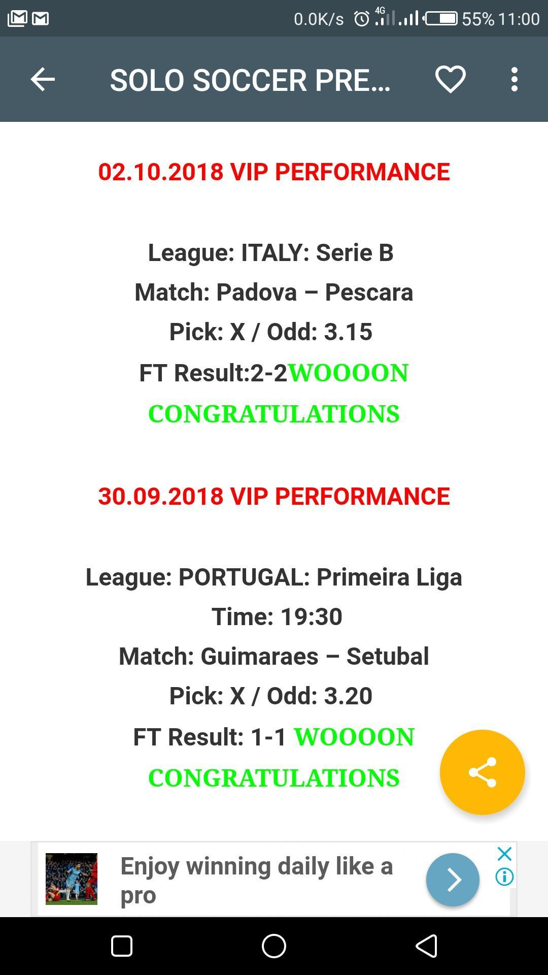 SOLO SOCCER PREDICTIONS for Android - APK Download