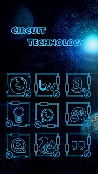 Circuit Technology Solo Theme apk screenshot