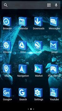 3D Cubes - Solo Launcher Theme apk screenshot