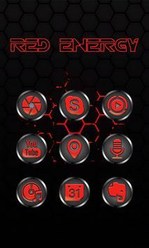 Red Energy - Solo Theme apk screenshot