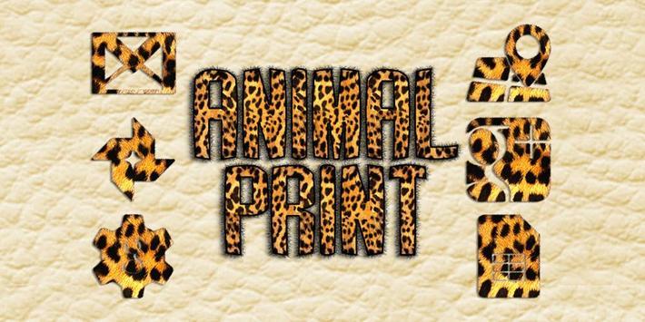 Animal Print Solo Launcher Theme poster