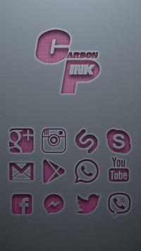 Carbon Pink Solo Launcher Theme apk screenshot