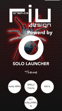 Cool Spider Solo Launcher Theme apk screenshot