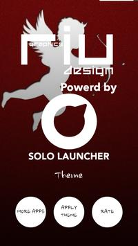 Cupid Love Solo Launcher Theme apk screenshot