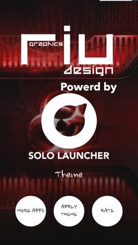 High Tech Solo Launcher Theme apk screenshot