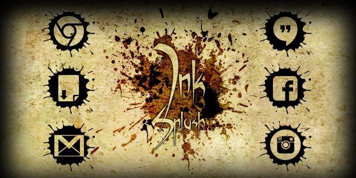 Ink Splash Solo Launcher Theme poster