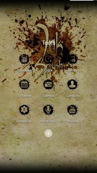Ink Splash Solo Launcher Theme apk screenshot