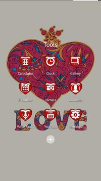 Love Solo Launcher Theme apk screenshot