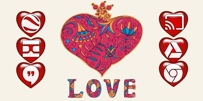 Love Solo Launcher Theme poster