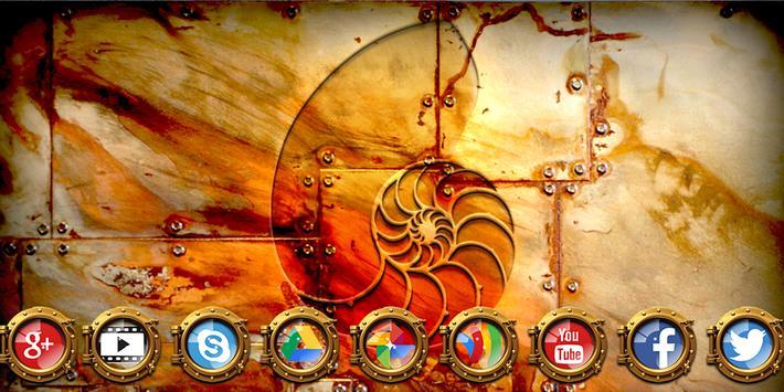 Nautilus Solo Launcher Theme poster
