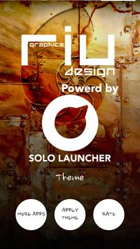 Nautilus Solo Launcher Theme apk screenshot
