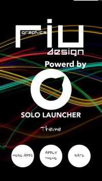 Neon Pink Solo Launcher Theme apk screenshot