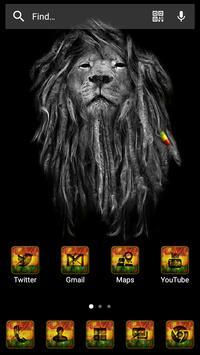 Rasta Reggae Solo Launcher Theme apk screenshot