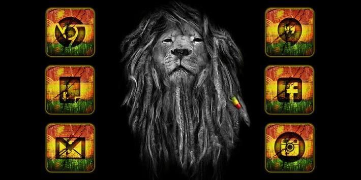 Rasta Reggae Solo Launcher Theme poster