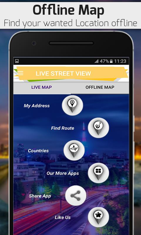 Street View Live 2018 Pro : GPS Map & Navigation for Android