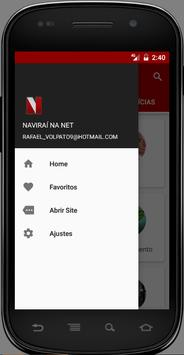 NAVIRAÍ NA NET apk screenshot