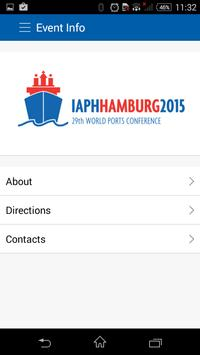 IAPH 2015 screenshot 2