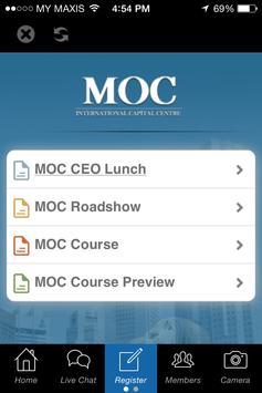 MOC GCC screenshot 1
