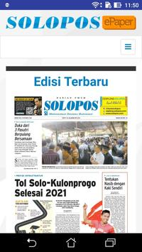 Epaper Solopos poster