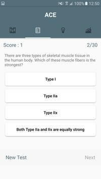 ACE Tests - Personal Trainer screenshot 2