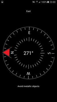 Compass - Minimalist, Magnetic apk screenshot