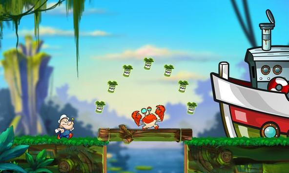 Sailor Jungle Running screenshot 1