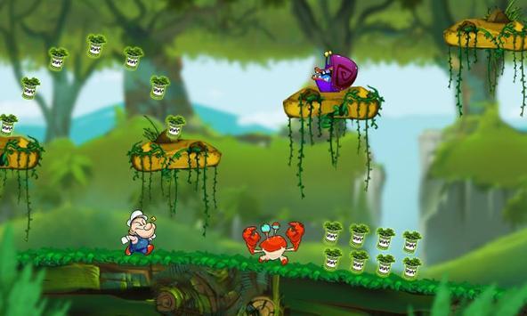 Sailor Jungle Running screenshot 2